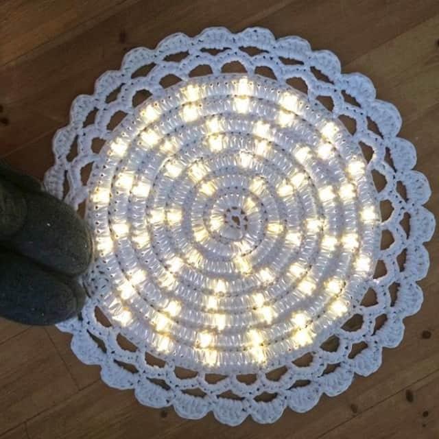 Светодиодная подсветка в коврике