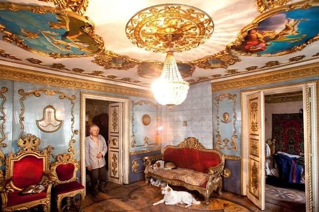 Необычный дачный дом