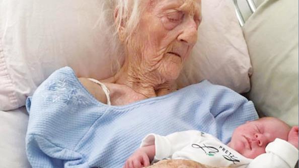 Итальянка родила в 101 год