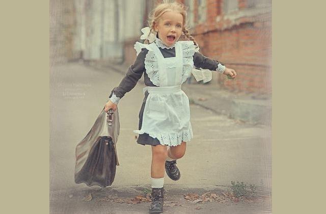 Девочка Алиса пришла в 1-й класс