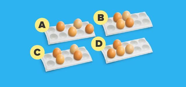 Как бы вы расположили яйца? Не нужно смеяться, это серьезный психологический тест!