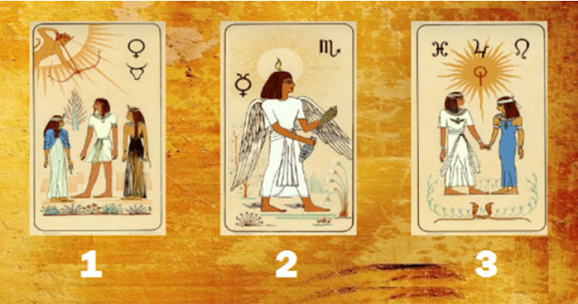 Гадание на магических египетских картах