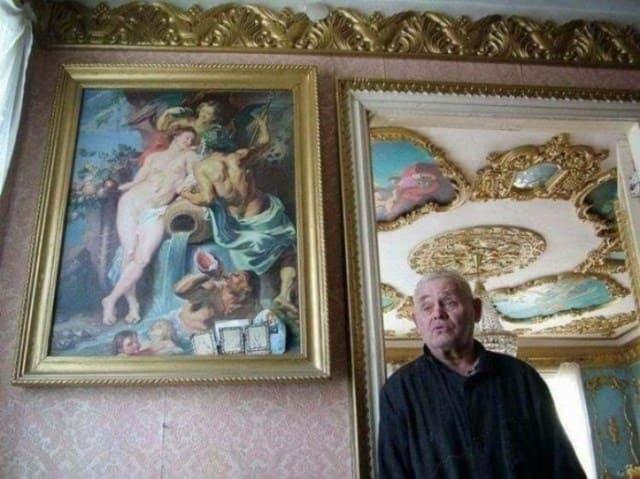 Владимир Филиппович Акулов — мастер-резчик, создавший поразительную красоту в собственном жилье.