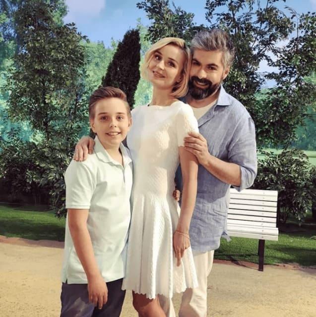 Дмитрий Исхаков и сын Полины Гагариной