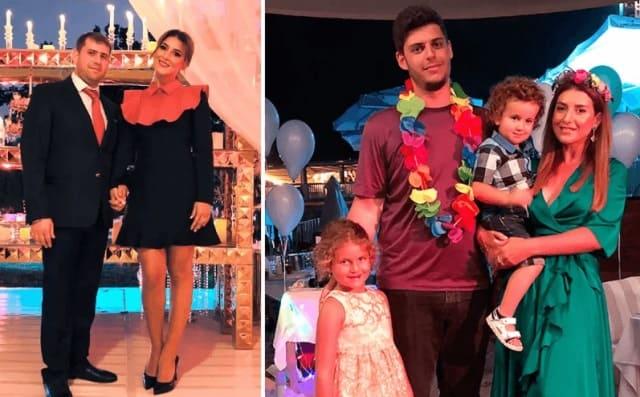 Илан Шор и сын Жасмин