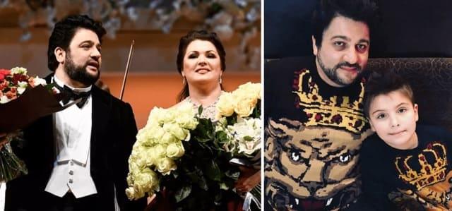 Юсиф Эйвазов и сын Анны Нетребко