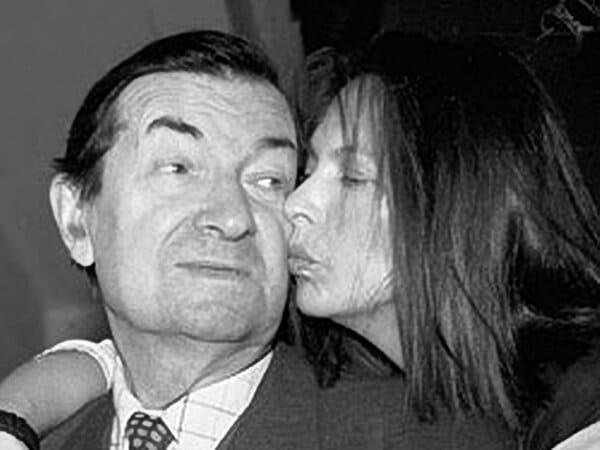 Наталья Вицина с отцом