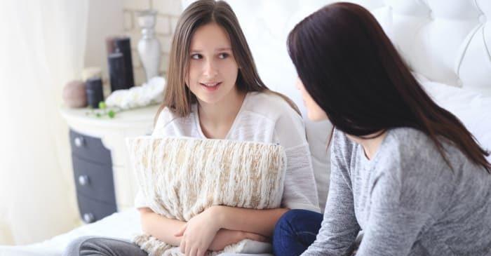 Девочка спросила у мамы как ей предохраняться