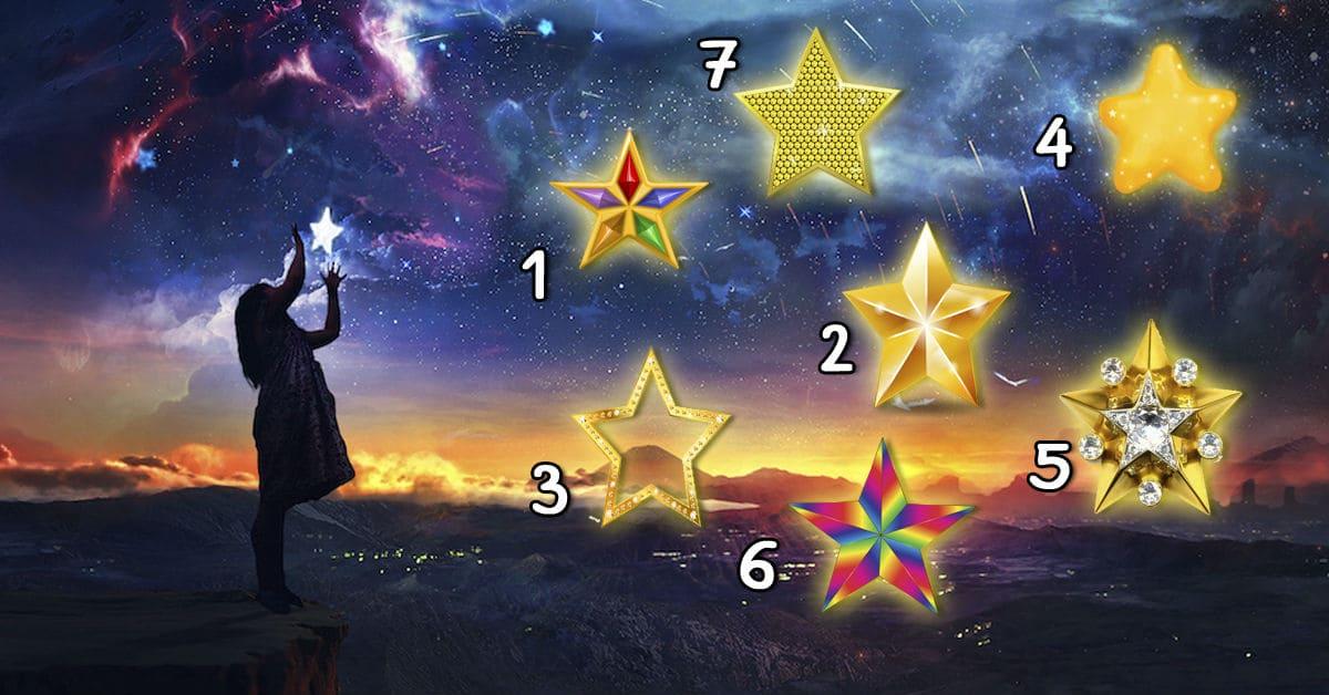 Выберите звезду и узнайте, когда исполнится ваше желание!
