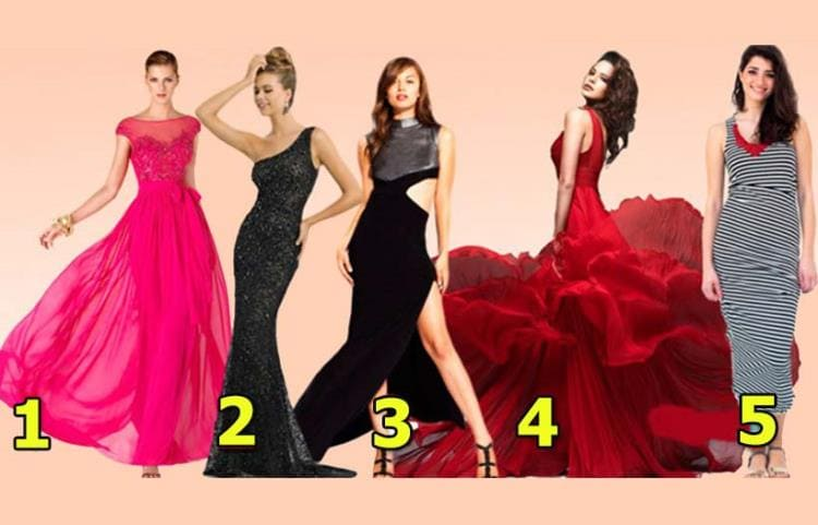 Выбранное платье расскажет насколько ваша душа женственна, загадочна, тонка