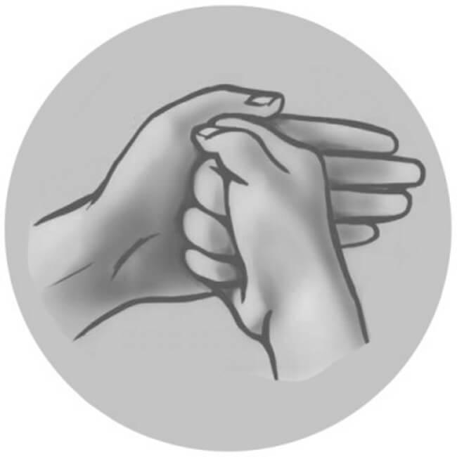 Мудра «Щит Шамбалы» от негативной энергии