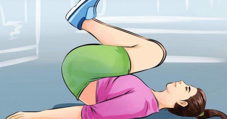 9 упражнений для сжигания жира на животе за 14 дней
