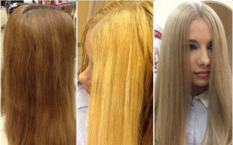 Избавляемся от жёлтого «деревенского» цвета волос с помощью проверенных средств