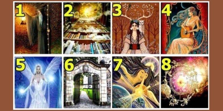 Выберите картинку и получите свое послание от Вселенной
