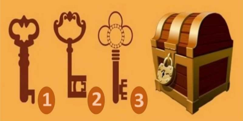 Каким ключом вы бы открыли сундук? Выберите ключ и получите важный совет