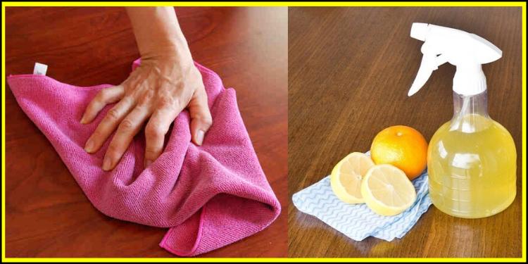 Лимонная Тряпка — супер эффективный инструмент против пыли. Не знали?