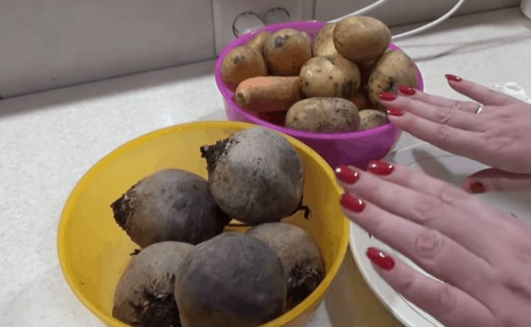 Быстрая варка овощей. Даже свекла сварится за 10 минут и ручки чистые!
