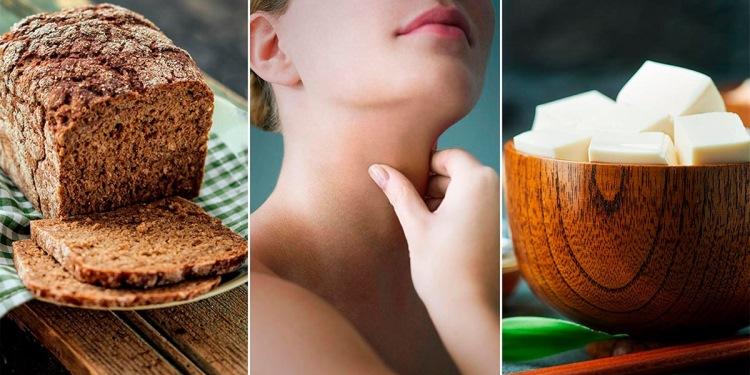 Щитовидная железа. Продукты которые нужны для ее здоровья!