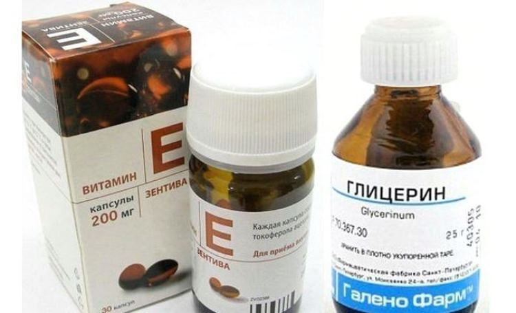 Глицерин + Витамин Е = Ваша Молодость и Красота