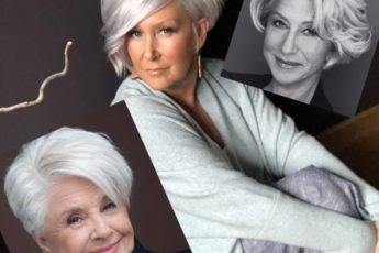 Стрижки для самых свободных и счастливых женщин 65+(ФОТО)