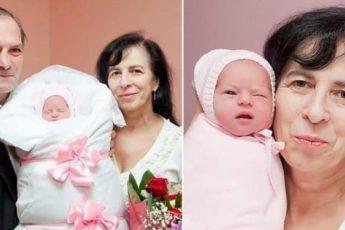 Громкая история о москвичке, родившей в 60 лет. Как сейчас выглядят мама и дочь