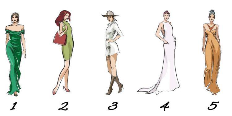 Быстрый тест для женщин: выберите платье и узнайте, какая вы в любви
