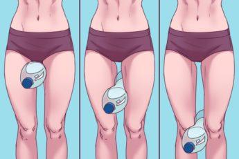 Упражнение «бутылочка» для быстрого похудения в ногах