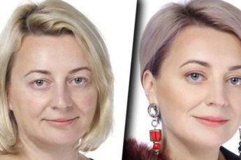 Прекрасные преображения женщин за счет правильной стрижки и цвета волос