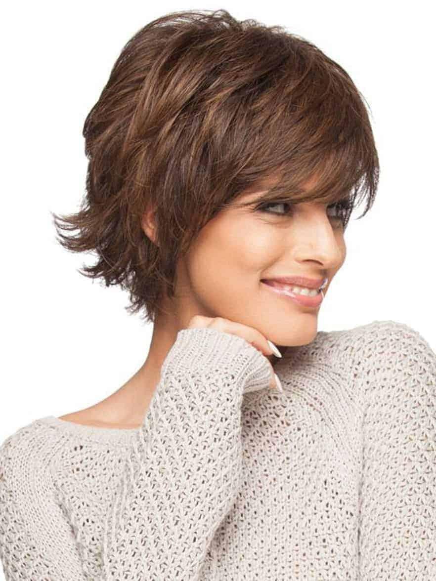 Стильные варианты стрижки «Итальянка» для женщин 40-50 лет