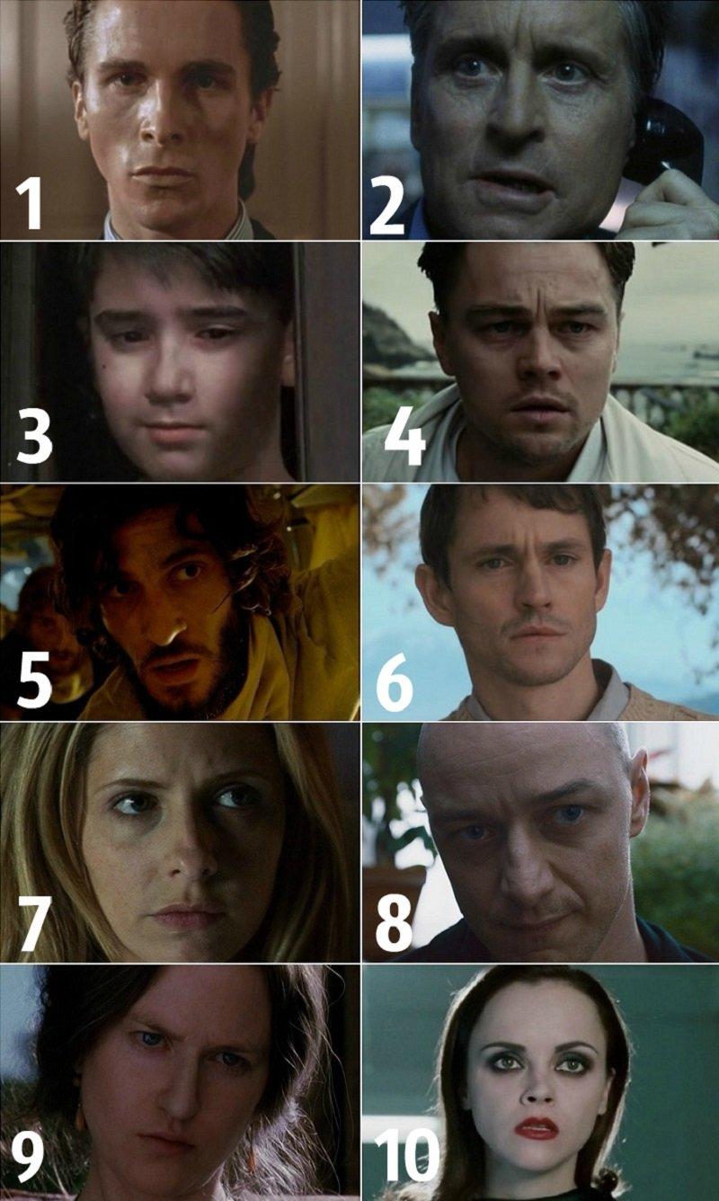 Кто из них пугает тебя? Выбери и узнай, что скрывает твоё подсознание