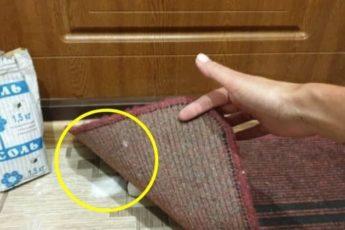 Почему следует осыпать солью дверь и порог