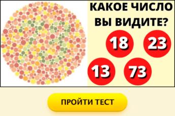 Визуальный тест на тип вашего мировоззрения