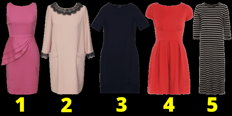 Выберите платье и узнайте интересное о себе